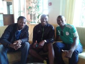 Ayobami, Francis and Bambo