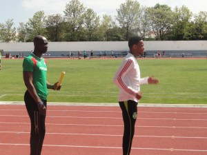 Francis Obikwelu and David Lima