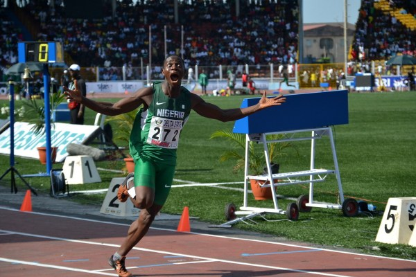 Ifeanyichukwu Atuma hopes to add the African junior title to the GOLD medal he won at the Youth Championships in 2013. (Photo Credit: Shengol Pix)