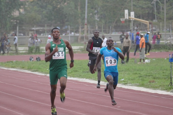 Olisakwe Chukwudi put up an impressive performance in his events.