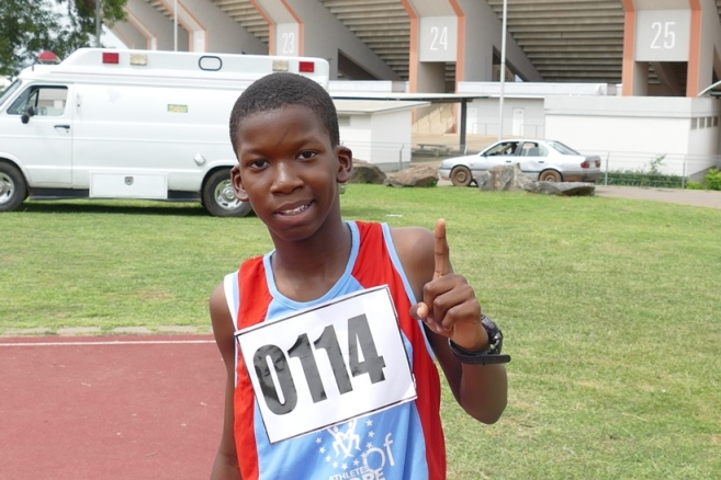 11-year old Kolade Ayeni is one to watch out for in future.