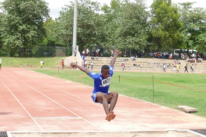 The kids also participated in the Long Jump.