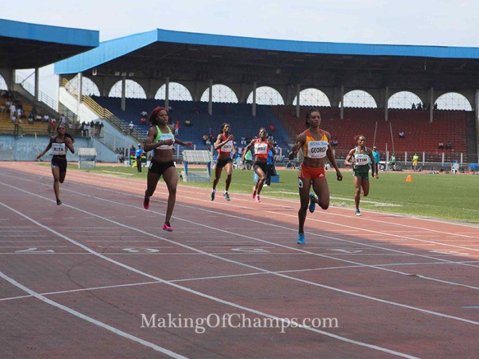 Okon George finished ahead of fierce rival, Regina George.