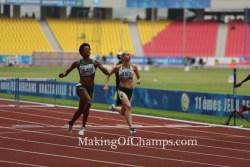 Lindsay Weyinme clocks PB, as Oduduru & Amusan race to SBs