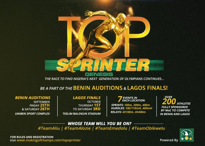 TOP-SPRINTER-benin auditions and lagos finals