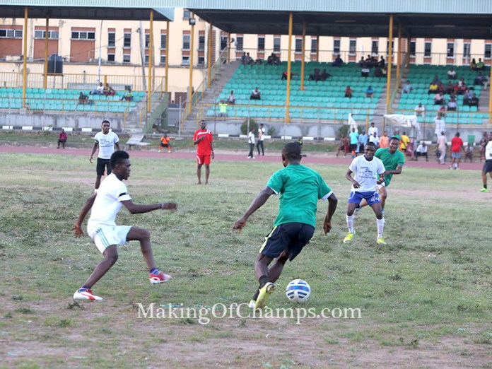 A football match was played in Ezealah's memory.