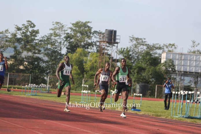 Orukpe Erayokan ran an SB of 46.22s at the Akure Golden League