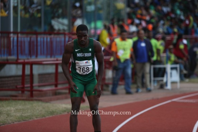 2016 African Champs, Rio 2016