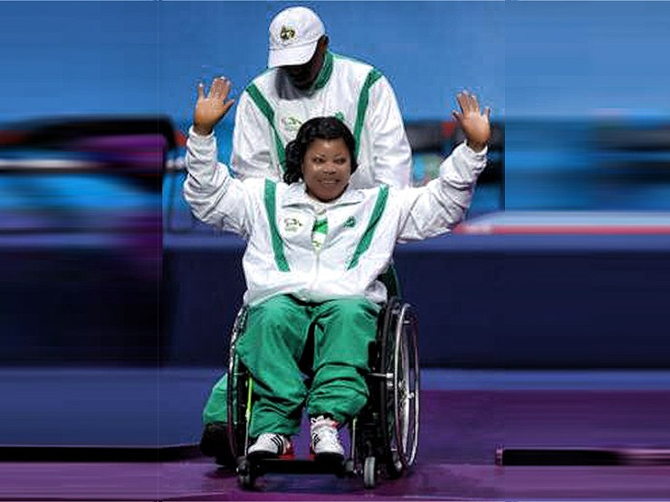 Nigeria's Lucy Ejike sets new world record at the Rio Paralympics