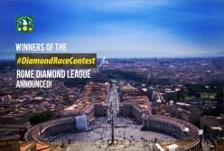 Ijeomah, Fast Track & WeRun teams top Rome Diamond Race Contest