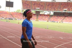 Patience Okon George qualifies for World Championships