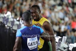 Usain Bolt shuts down Reporter suggesting a slow London 2017 is due to anti doping!