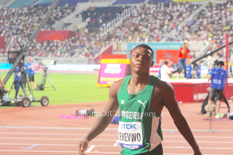 Oduduru No Longer Competing At 2019 World Championships