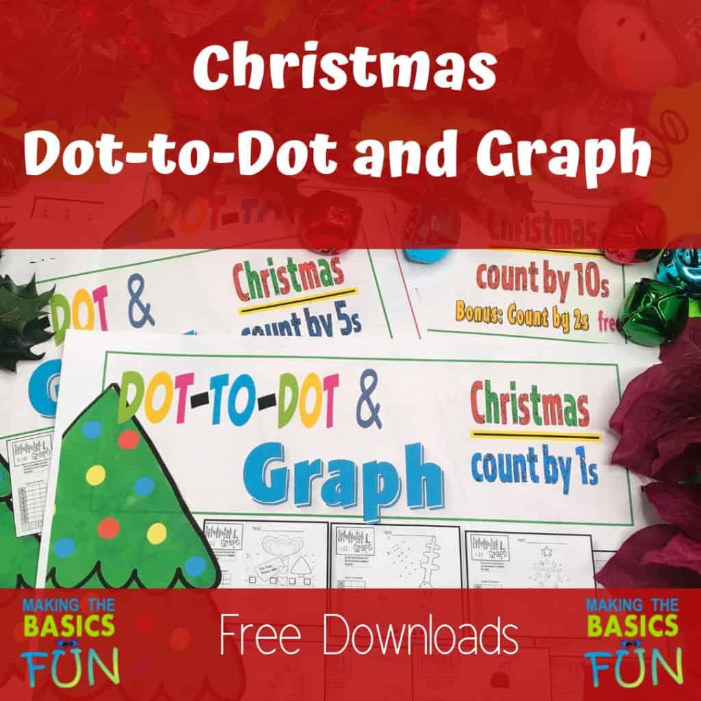 Fun Christmas Dot To Dot And Graph To Add You Math
