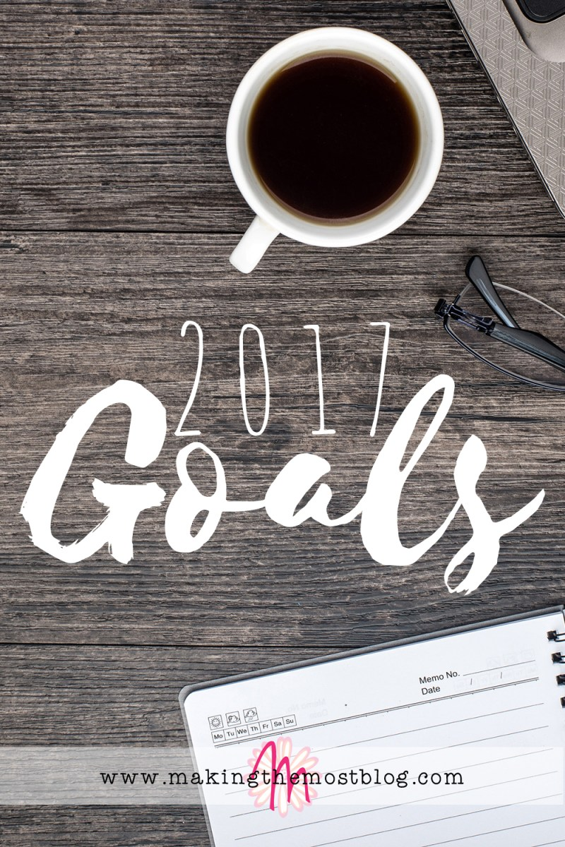 2017 Goals | Making the Most Blog