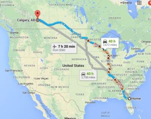 FL to Calgary