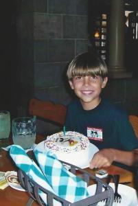 Tommy's 10th birthday
