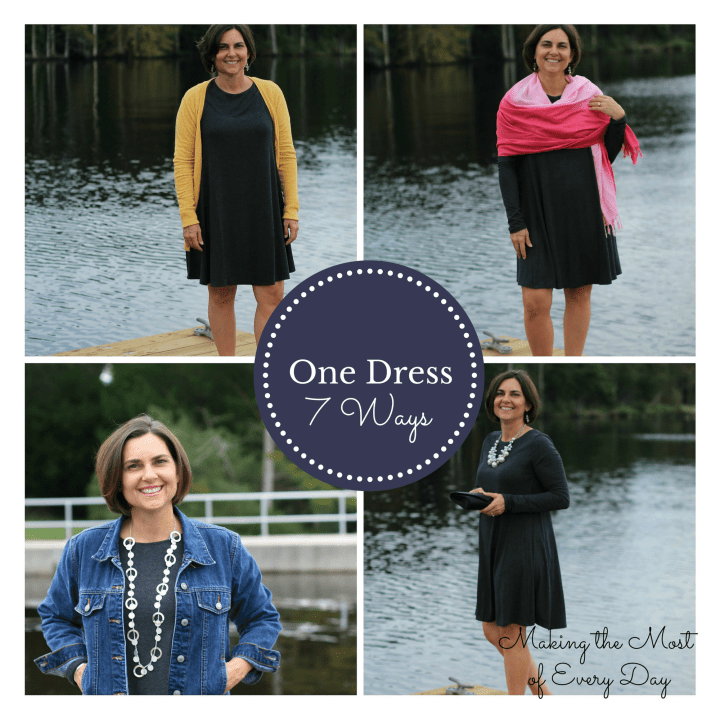 One Dress collage