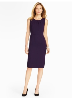 talbots sleeveless sheath