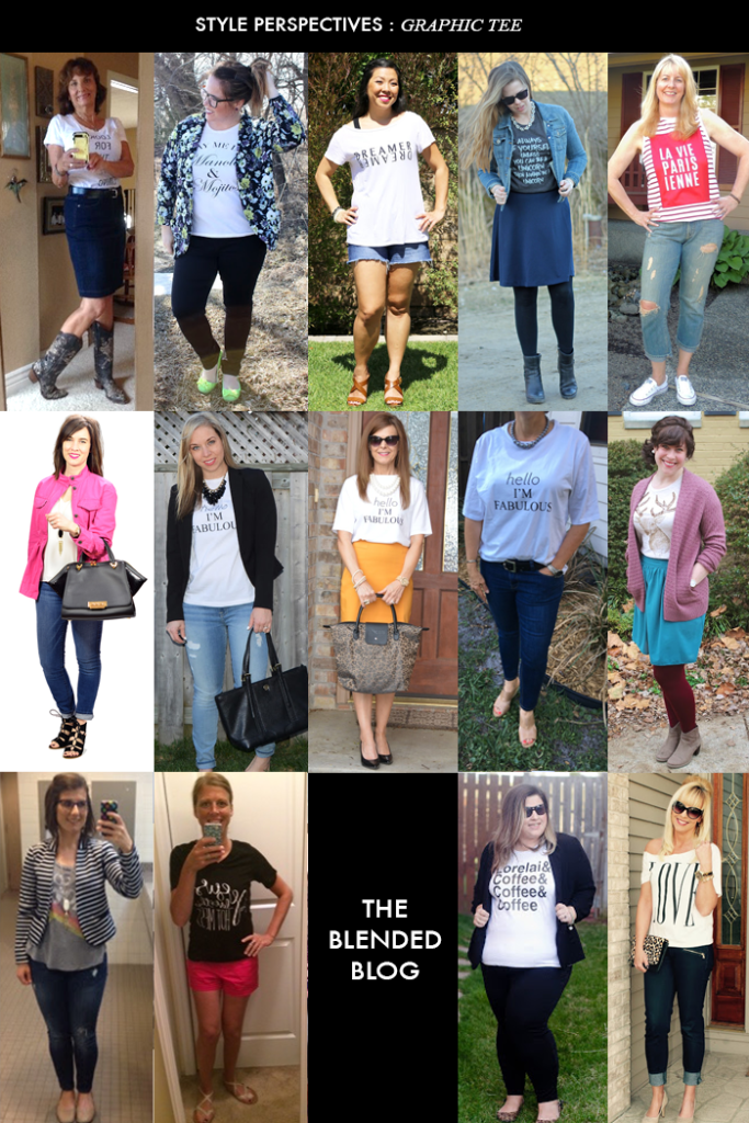 graphic tee outfit style perspectives blended blog