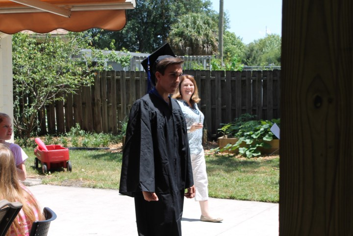 Timothy cap and gown