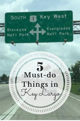 5 Must Do's in Key Largo
