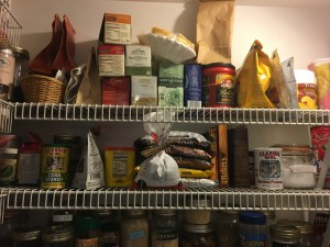pantry shelves 1 and 2