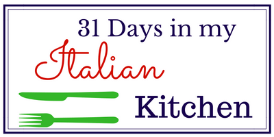 Come spend 31 days in my Italian Kitchen with me and learn to cook delicious but easy recipes!