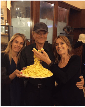 Ines di Lelio, the restauranter that owns The Vero Alfredo in Rome
