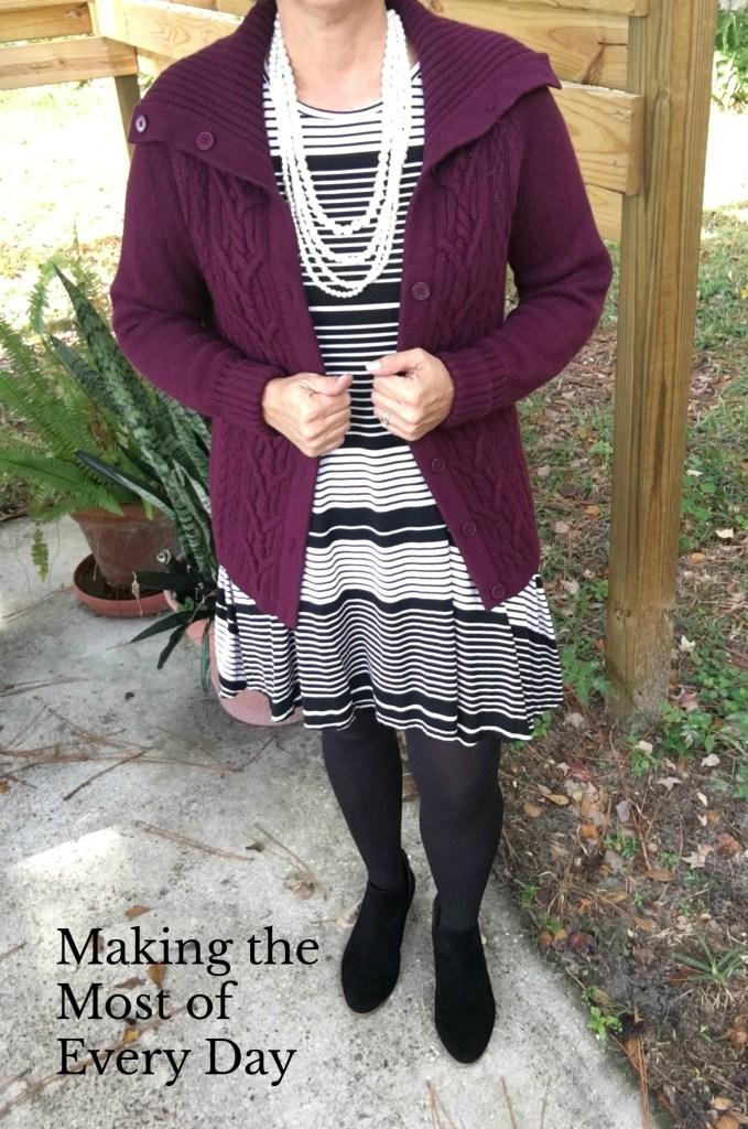 Transitioning a summer dress