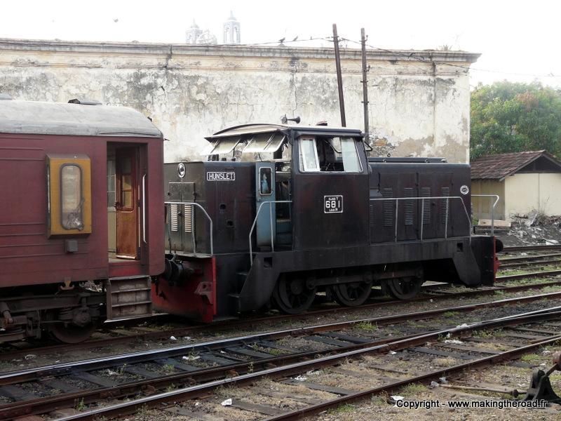 train de Colombo à Mirissa recit photo srilanka