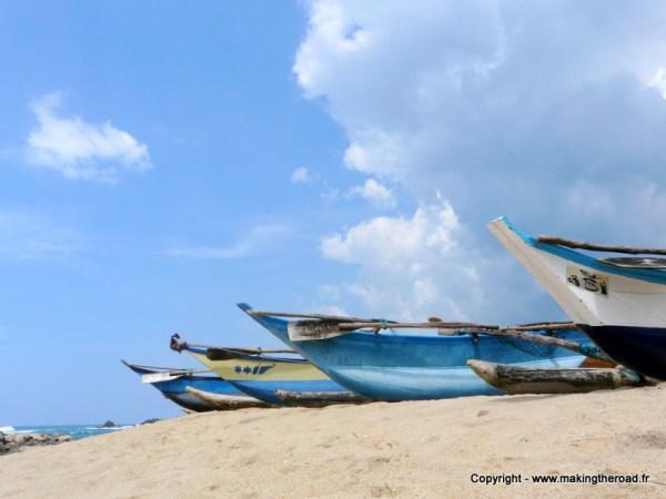 3 semaines au sri lanka plage mirissa