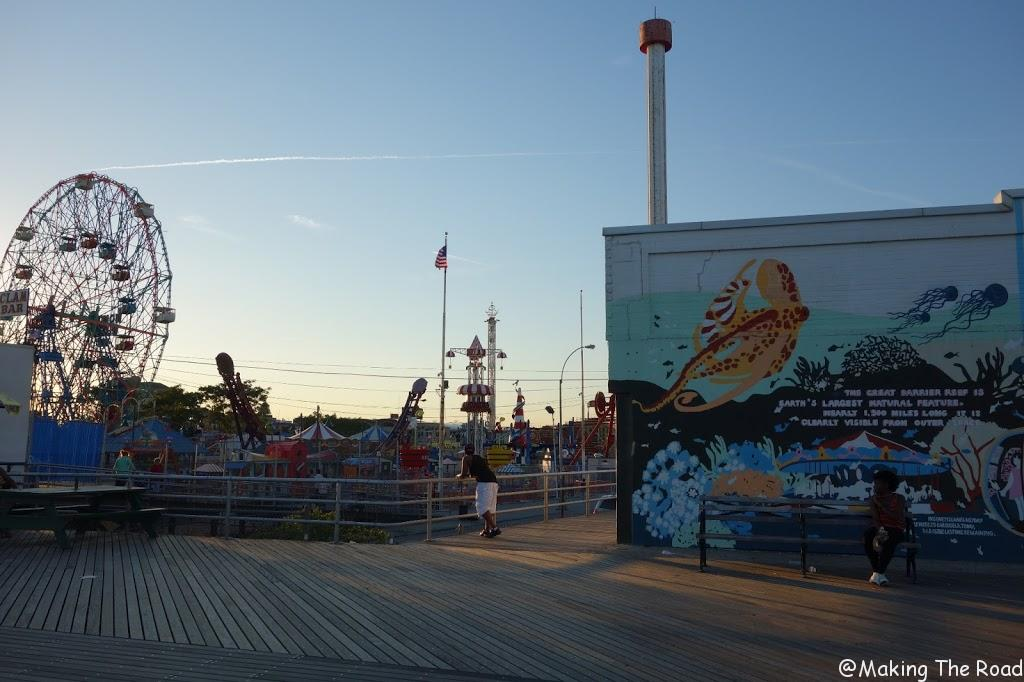 plage new york coney island beach