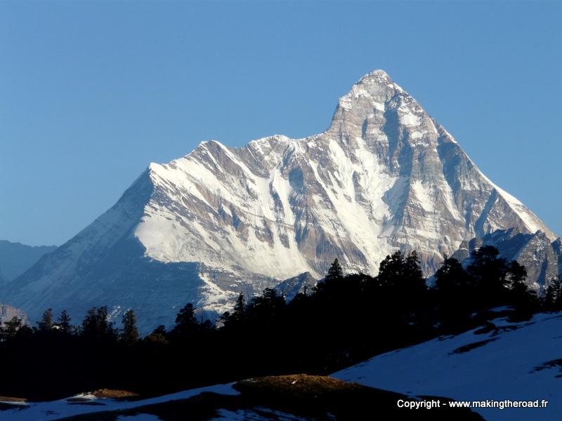 itinéraire inde du nord 3 semaines visiter uttarakhand blog voyage nanda devi