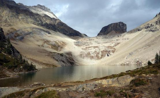 blog voyage canada randonnée parc national yoho Lac Hamilton