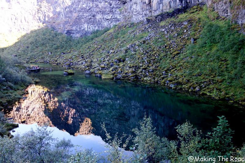 randonnée Canyon d'Asbyrgi islande