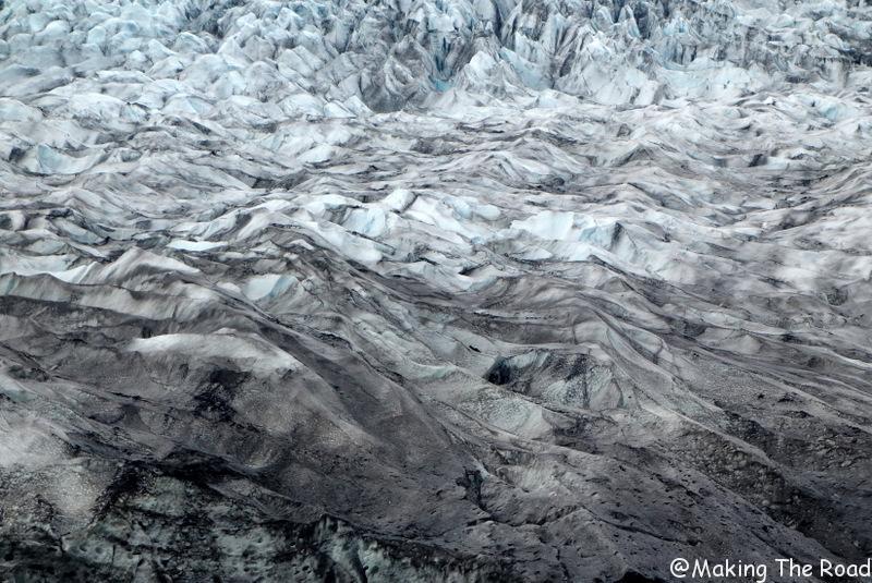 Le Glacier Flaajokull islande
