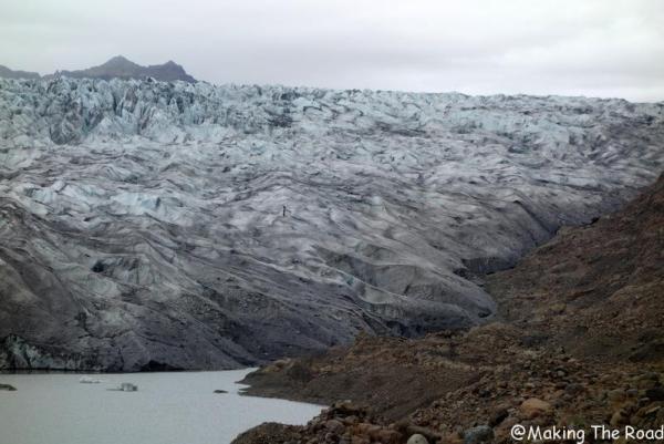 Glacier Flaajokull blog voyage islande road trip 10 jours circuit tour de l'ile