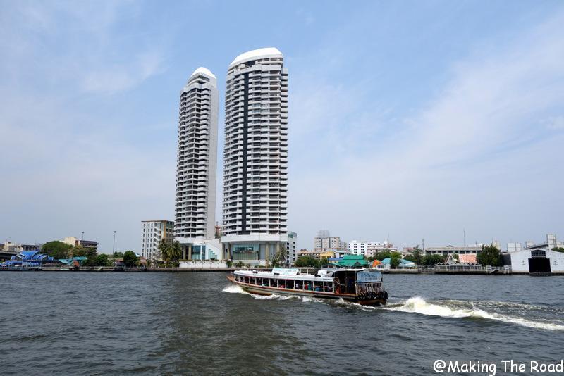 fleuve Chao Phraya visiter bangkok en 1 jour
