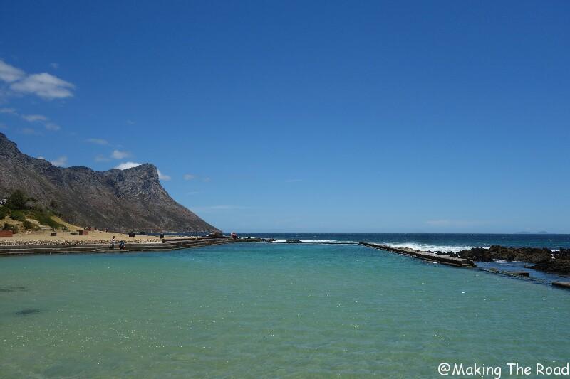 Afrique du sud houtbay garden road plages