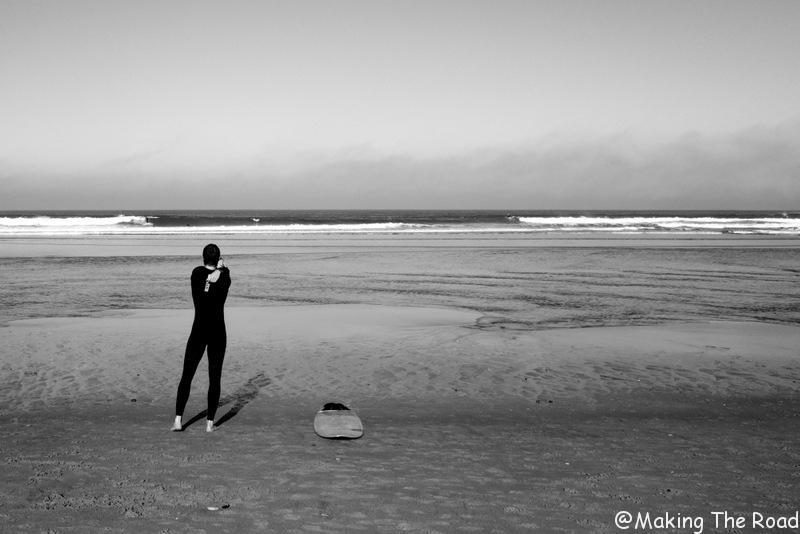 apprendre à faire du surf océan atlantique messange san sebastian