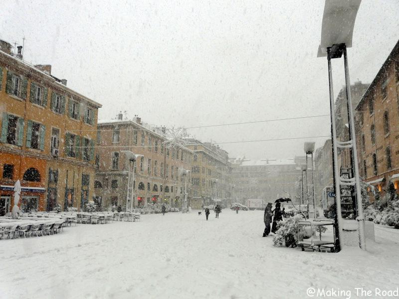 marseille neige 2009