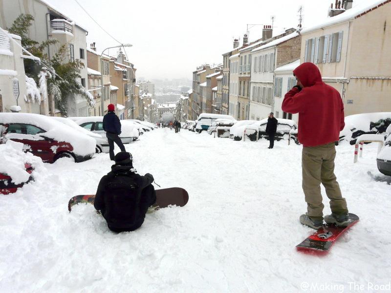snowboard marseille neige