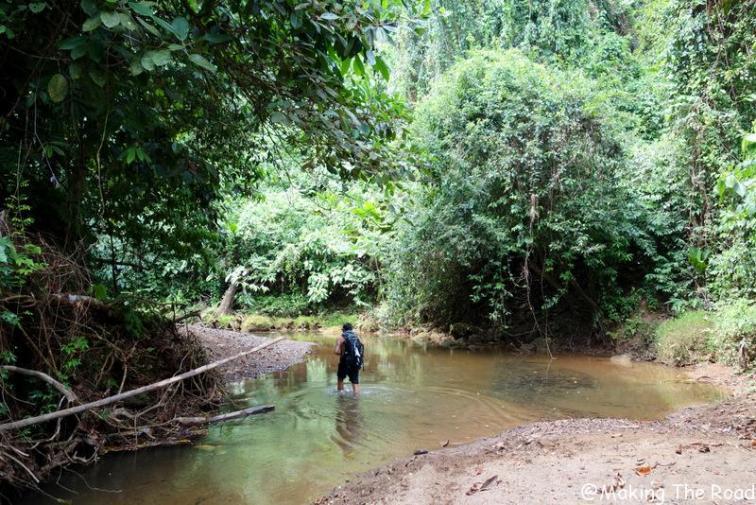 costa rica - randonnée - cascade - rio agujitas