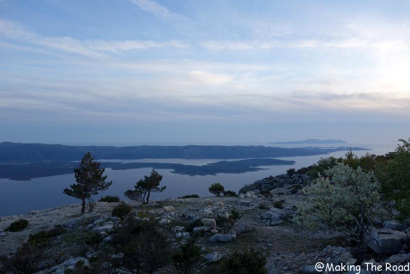 vidora gora randonnée croatie road trip ile de brac top lieux photo
