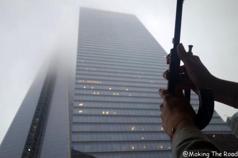 New York - pluie