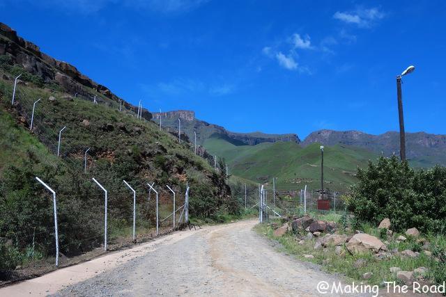 sani pass afrique sud frontiere