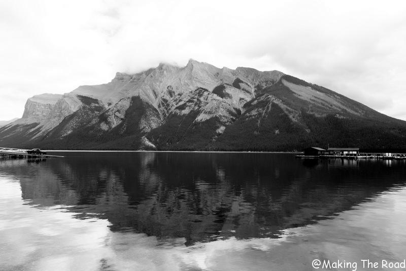 randonnée facile banff lac minnewanka