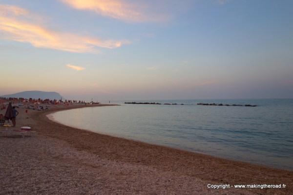 visiter porto recanati italie blog voyage plage