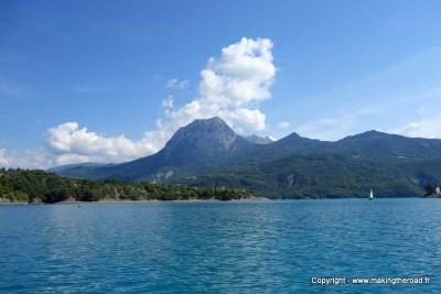 que visiter les alpes francaises lac serre-ponçon